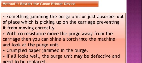Fix Error Code 6A81 on Canon Printer