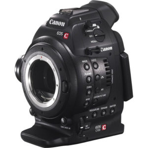 eos c100 cinema camera RF mount