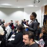 Ceremonie de lancement du travail pedagogique autour de Monique Martin et Maurice Luya