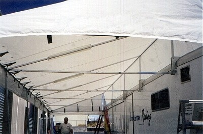 Race Car Trailer Awnings Amp Vendor Canopies Holliday Canopies