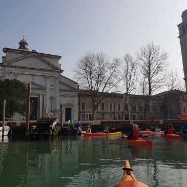 Canoa-kayak: Escursione a S. Pietro di Castello