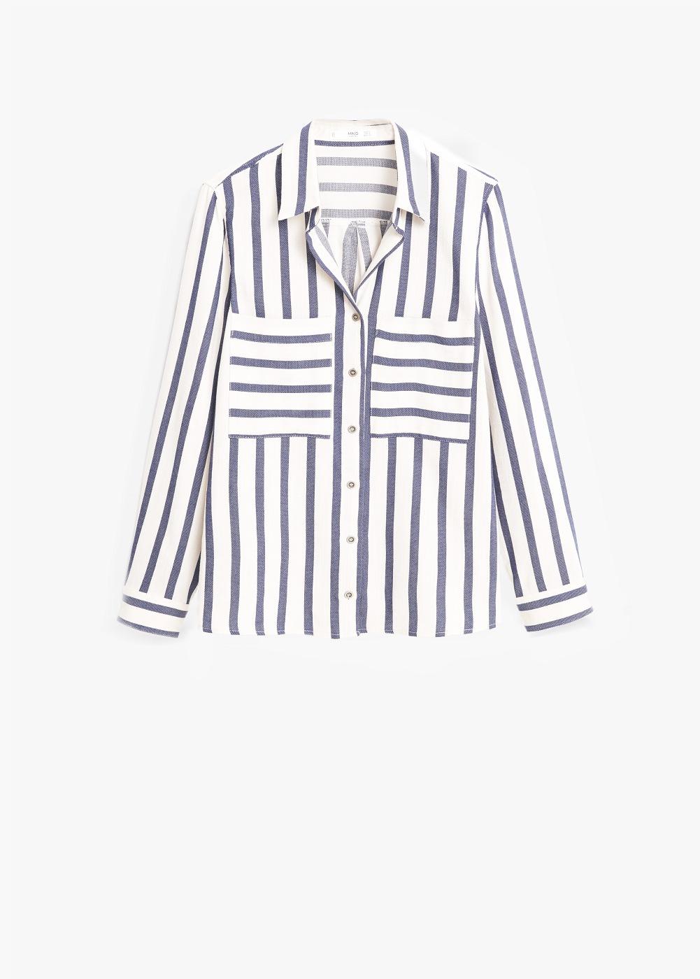 blusa rayas frente