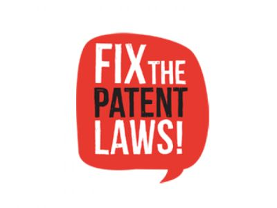 Fix Patent Laws logo