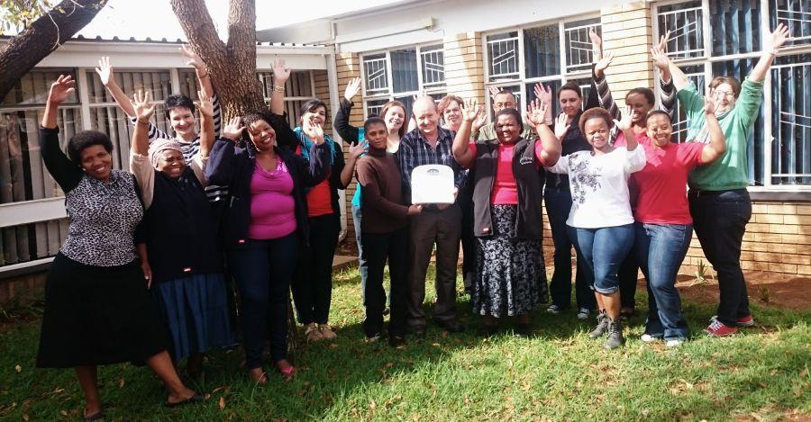 CANSA Bloem Staff Celebrate