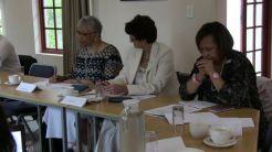 Barbara Green-Thompson (HPCA), Adri Ludick (CHOC),Stephne Jacobs Reach4 Recovery