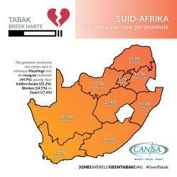 Suid-Afrika per provinsie