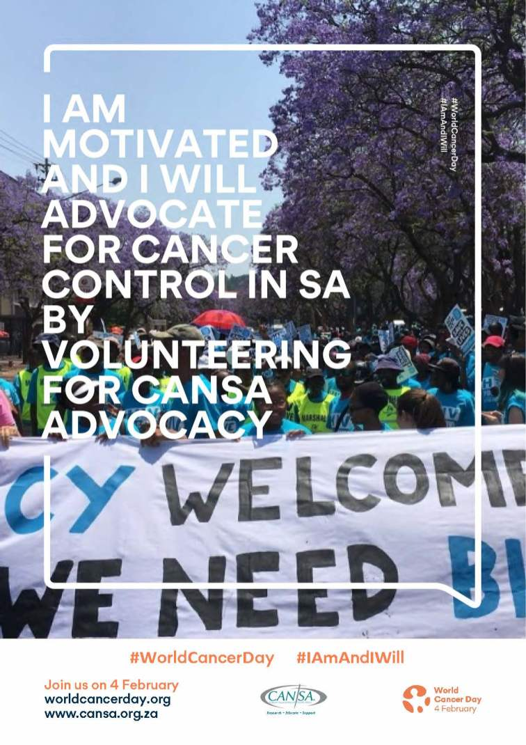 12 CANSA WCD Advocacy volunteer
