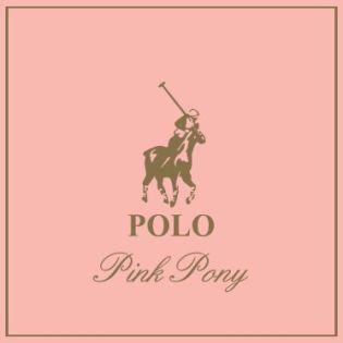Logo Polo Pink Pony