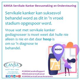 KANSA Servikale Kanker Veldtog info 05