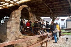 Resguardandonos termas romanas de parayas