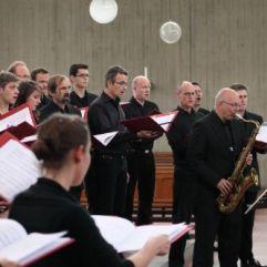 """Konzert """"Licht, Nacht, Frieden"""", Juni 2011, St. Anno Siegburg (Foto: Bernd Delbrügge)"""