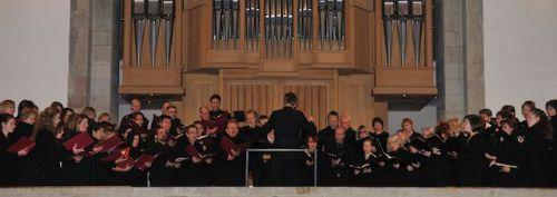 """Konzert """"Messen von F. Martin & L. Vierne"""", November 2010, St. Aposteln Köln"""