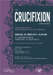 "Plakat ""The Crucifixion"""