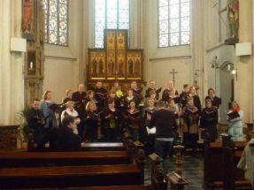 Stellprobe in Straelen (Crucifixion, März 2014)