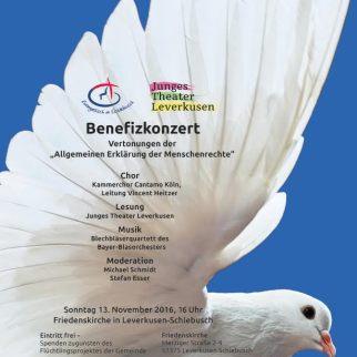 2. Leverkusener Friedenskonzert, 13.11.16