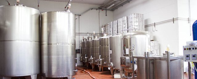 Tini in acciaio inox per la fermentazione a temperatura controllata
