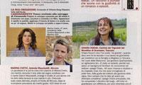 donna moderna sulle donne del vino