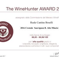 The WineHunter Award CRESTALE