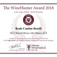 The WineHunter Award_ROSSO1502