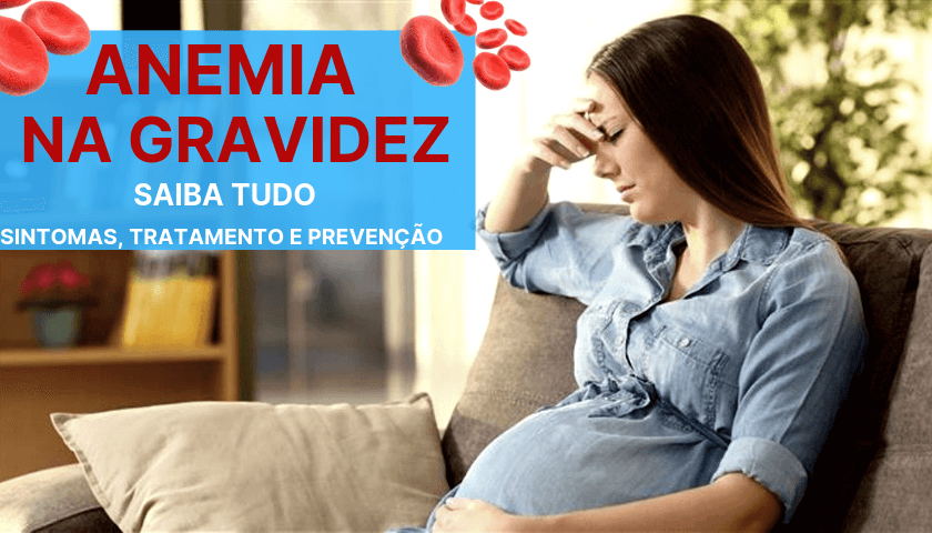 quais sintomas de anemia na gravidez