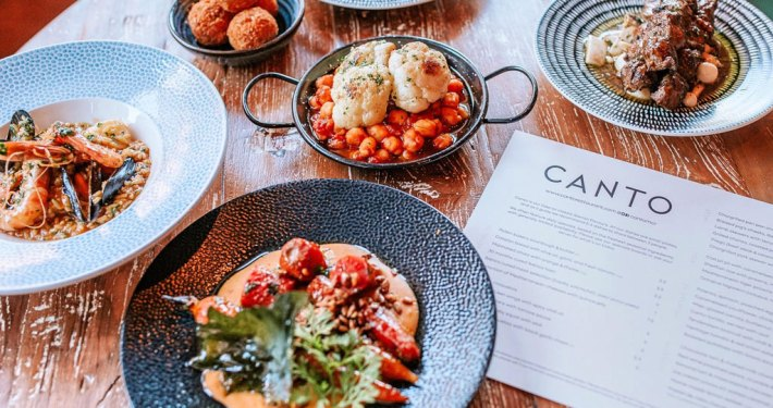 New menu dishes at Canto