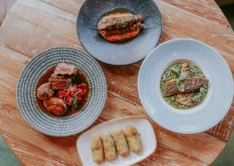 Summer dishes at Canto