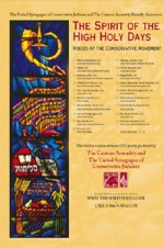 Volume 3 The Spirit of the High Holy Days: Voices of the Conservative Movement