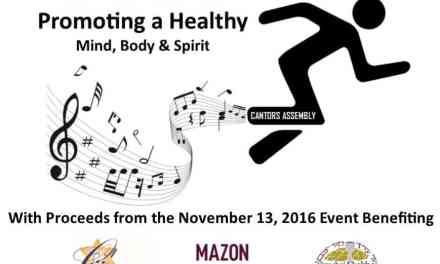 Cantors Chai 5K:  Promoting a Healthy Mind, Body & Spirit