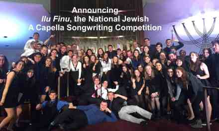 Calling all collegiate arrangers of Jewish A Cappella groups!