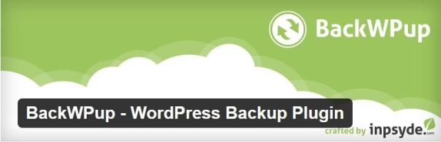 BackWPup - Top 10 wordpress plugins for business