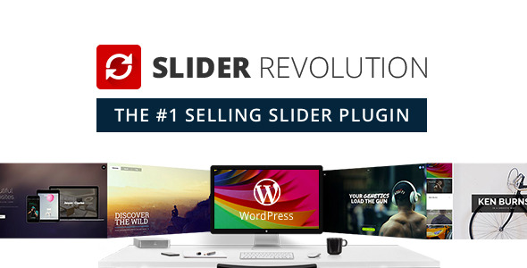 Slider Revolution - Top 10 wordpress plugins for business