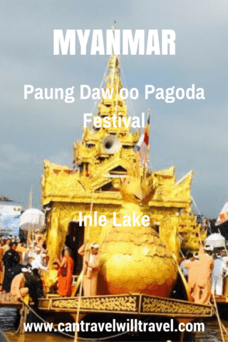 Paung Daw oo Pagoda Festival at Inle Lake in Myanmar