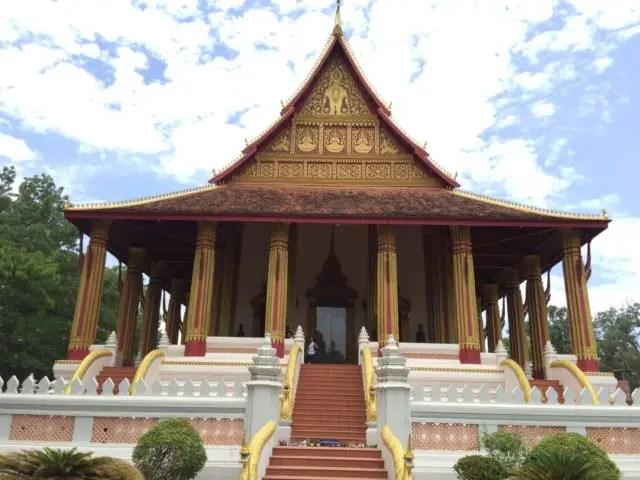 Wat Ho Phra Kaew in Vientiane, Laos