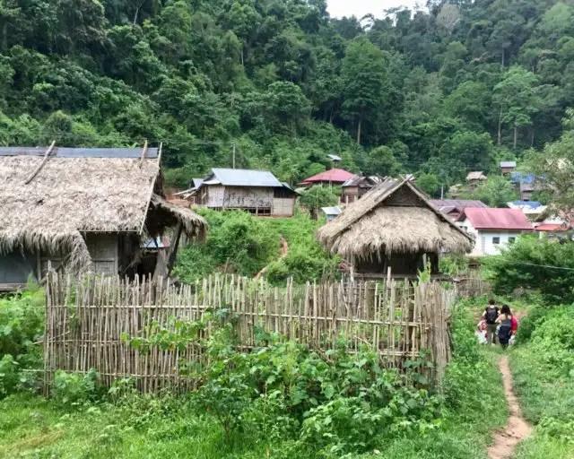 Chaleunsouk Village in Namha NPA, Laos