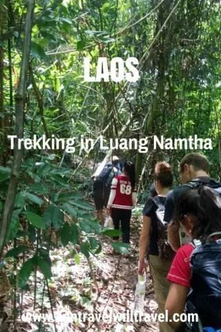 Trekking in Luang Namtha, Laos