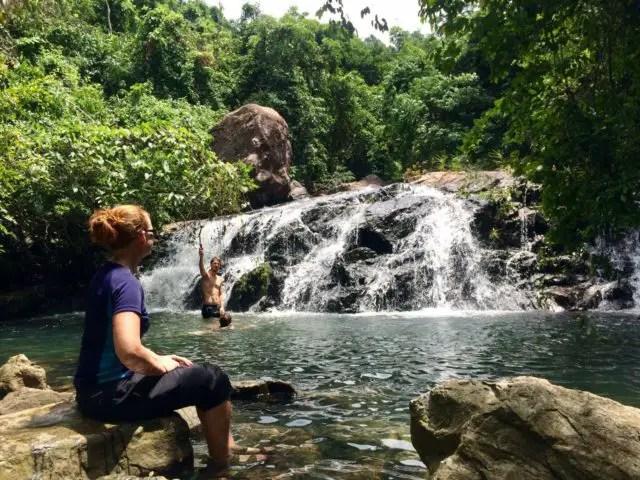 Waterfall in Phong Nha-Ke Bang National Park, Vietnam