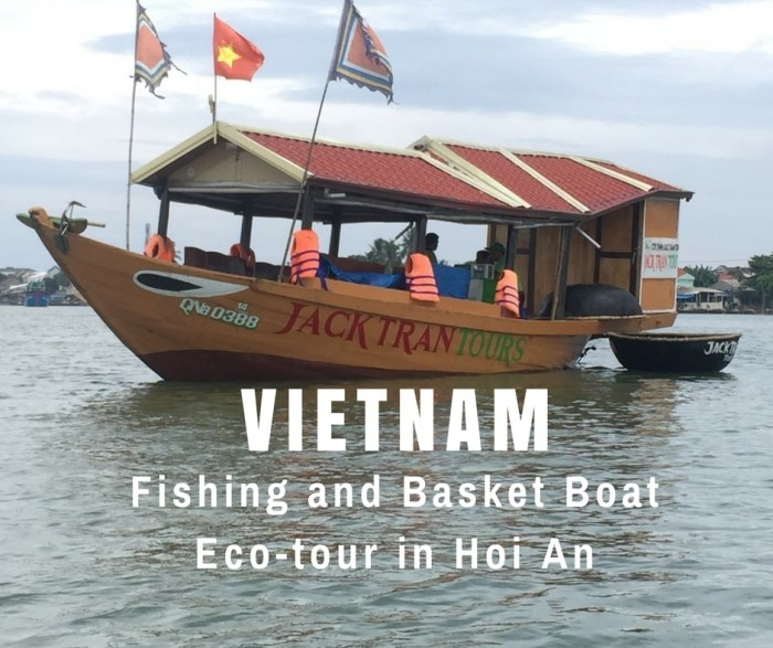 Fishing and Basket Boat Tour in Hoi An, Vietnam