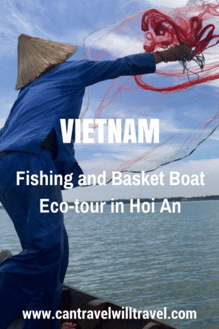 Fishing and Basket Boat Tour with Jack Tran Tours in Hoi An, Vietnam