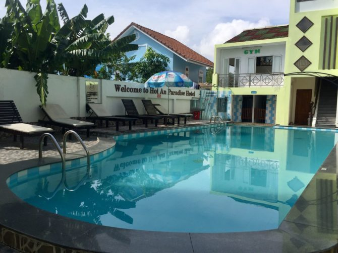 Hoi An Paradise Hotel Swimming Pool in Vietnam