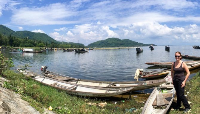 Tam Giang Lagoon in Vietnam