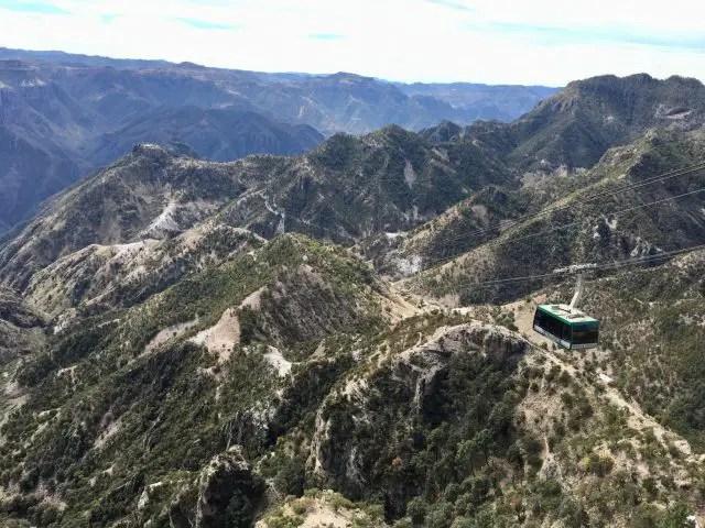 Cable Car at Copper Canyon Adventure Park, Mexico