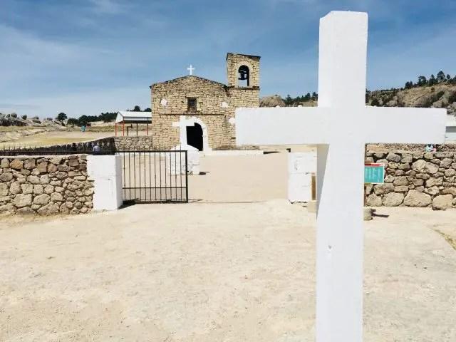 San Ignacio Mision in Creel in Copper Canyon, Mexico