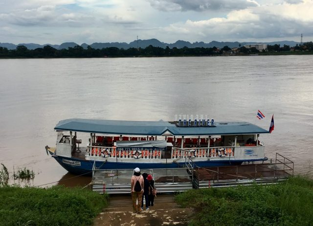 The River Riverboat Cruise in Nakhon Phanom, Thailand