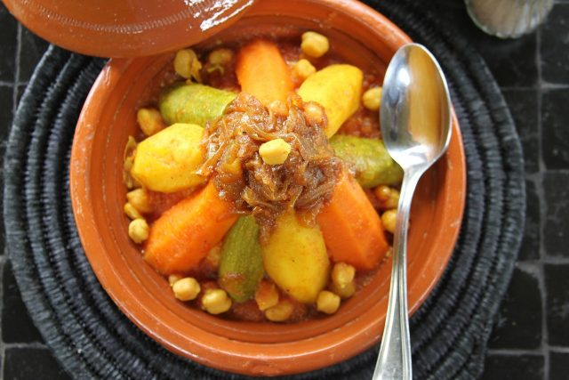 Vegetable Cous Cous in Marrakech, Morocco