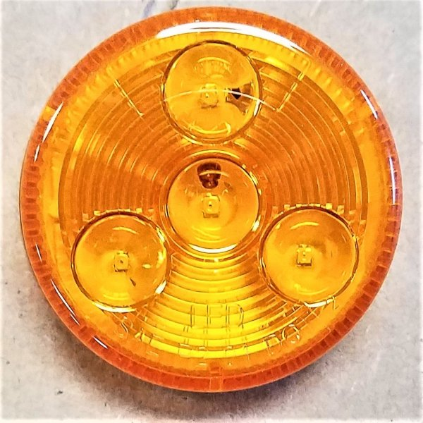 "C030316 2"" AMBER MARKER LIGHT"