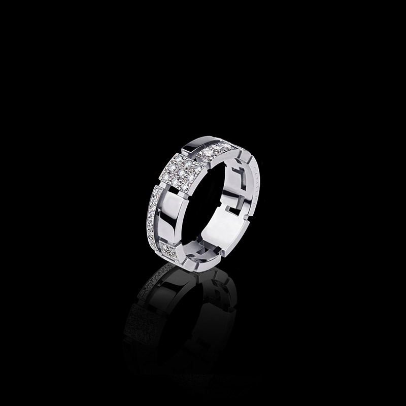 Jewels Cubism Pav Diamond Ring Canturi