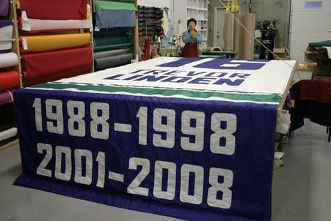 Trevor Linden banner