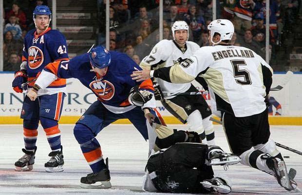 Matt Martin, New York Islanders, Max Talbot, Pittsburgh Penguins