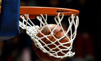 Pelota aro basquet