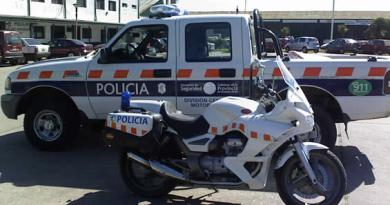 policia provincia moto
